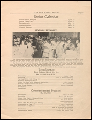 Page 11, 1945 Edition, Alta Community High School - Cyclone Yearbook (Alta, IA) online yearbook collection