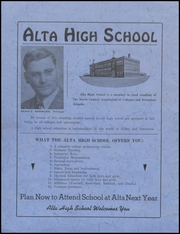 Page 2, 1945 Edition, Alta Community High School - Cyclone Yearbook (Alta, IA) online yearbook collection