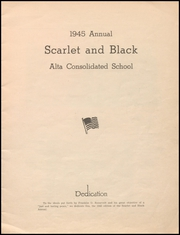 Page 3, 1945 Edition, Alta Community High School - Cyclone Yearbook (Alta, IA) online yearbook collection