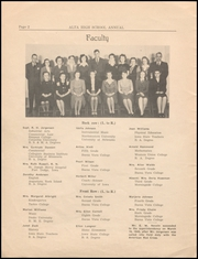 Page 4, 1945 Edition, Alta Community High School - Cyclone Yearbook (Alta, IA) online yearbook collection