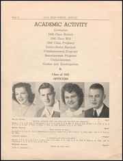 Page 6, 1945 Edition, Alta Community High School - Cyclone Yearbook (Alta, IA) online yearbook collection