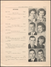 Page 7, 1945 Edition, Alta Community High School - Cyclone Yearbook (Alta, IA) online yearbook collection