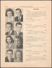 Page 8, 1945 Edition, Alta Community High School - Cyclone Yearbook (Alta, IA) online yearbook collection
