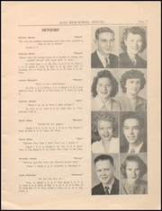Page 9, 1945 Edition, Alta Community High School - Cyclone Yearbook (Alta, IA) online yearbook collection