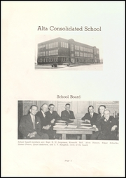 Page 6, 1947 Edition, Alta Community High School - Cyclone Yearbook (Alta, IA) online yearbook collection