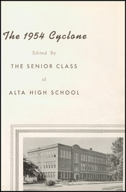 Page 7, 1954 Edition, Alta Community High School - Cyclone Yearbook (Alta, IA) online yearbook collection