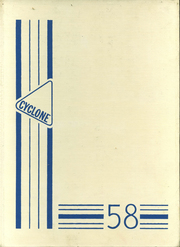 Page 1, 1958 Edition, Alta Community High School - Cyclone Yearbook (Alta, IA) online yearbook collection