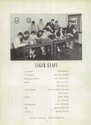 Page 10, 1954 Edition, New London High School - Tiger Yearbook (New London, IA) online yearbook collection