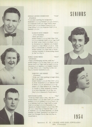 Page 12, 1954 Edition, New London High School - Tiger Yearbook (New London, IA) online yearbook collection