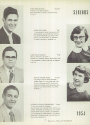 Page 14, 1954 Edition, New London High School - Tiger Yearbook (New London, IA) online yearbook collection