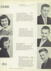 Page 15, 1954 Edition, New London High School - Tiger Yearbook (New London, IA) online yearbook collection