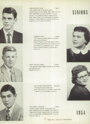 Page 16, 1954 Edition, New London High School - Tiger Yearbook (New London, IA) online yearbook collection