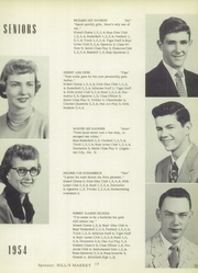 Page 17, 1954 Edition, New London High School - Tiger Yearbook (New London, IA) online yearbook collection