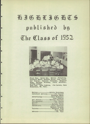 Page 9, 1952 Edition, St Ansgar High School - Highlights Yearbook (St Ansgar, IA) online yearbook collection