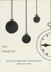 Page 5, 1963 Edition, Durant High School - Wildcat Yearbook (Durant, IA) online yearbook collection