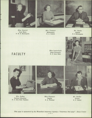 Page 11, 1955 Edition, Sioux Center High School - Warrior Yearbook (Sioux Center, IA) online yearbook collection