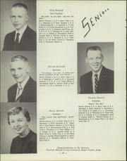 Page 14, 1955 Edition, Sioux Center High School - Warrior Yearbook (Sioux Center, IA) online yearbook collection