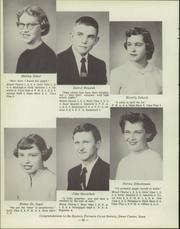 Page 16, 1955 Edition, Sioux Center High School - Warrior Yearbook (Sioux Center, IA) online yearbook collection