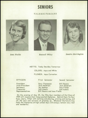 Page 12, 1959 Edition, Montezuma High School - Tomahawk Yearbook (Montezuma, IA) online yearbook collection