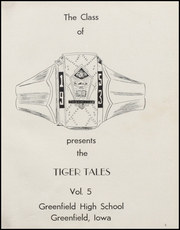 Page 5, 1953 Edition, Greenfield High School - Tiger Tales Yearbook (Greenfield, IA) online yearbook collection