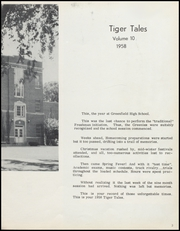 Page 7, 1958 Edition, Greenfield High School - Tiger Tales Yearbook (Greenfield, IA) online yearbook collection