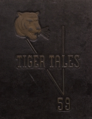 1959 Edition, Greenfield High School - Tiger Tales Yearbook (Greenfield, IA)
