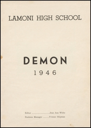 Page 5, 1946 Edition, Lamoni High School - Flame Yearbook (Lamoni, IA) online yearbook collection