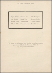 Page 7, 1946 Edition, Lamoni High School - Flame Yearbook (Lamoni, IA) online yearbook collection