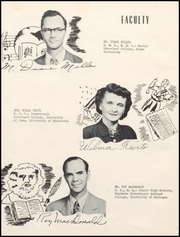 Page 10, 1953 Edition, Lamoni High School - Flame Yearbook (Lamoni, IA) online yearbook collection