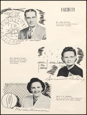 Page 12, 1953 Edition, Lamoni High School - Flame Yearbook (Lamoni, IA) online yearbook collection