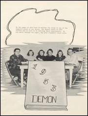 Page 5, 1953 Edition, Lamoni High School - Flame Yearbook (Lamoni, IA) online yearbook collection