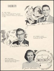 Page 9, 1953 Edition, Lamoni High School - Flame Yearbook (Lamoni, IA) online yearbook collection