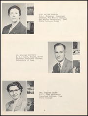 Page 10, 1954 Edition, Lamoni High School - Flame Yearbook (Lamoni, IA) online yearbook collection