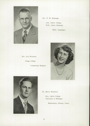 Page 14, 1949 Edition, Pella Christian High School - Memories Yearbook (Pella, IA) online yearbook collection
