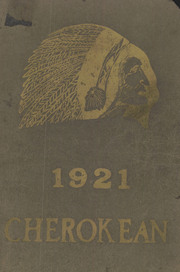 Cherokee High School - Cherokean Yearbook (Cherokee, IA) online yearbook collection, 1921 Edition, Page 1