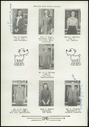 Page 8, 1946 Edition, Winfield High School - Mirror Yearbook (Winfield, IA) online yearbook collection