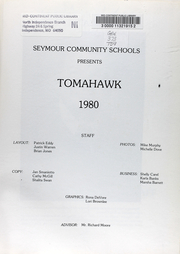 Page 6, 1980 Edition, Seymour High School - Tomahawk Yearbook (Seymour, IA) online yearbook collection