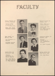 Page 11, 1940 Edition, Alden High School - Redskin Yearbook (Alden, IA) online yearbook collection
