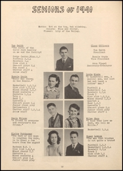Page 14, 1940 Edition, Alden High School - Redskin Yearbook (Alden, IA) online yearbook collection