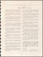 Page 15, 1947 Edition, Alden High School - Redskin Yearbook (Alden, IA) online yearbook collection