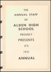Page 7, 1951 Edition, Alden High School - Redskin Yearbook (Alden, IA) online yearbook collection