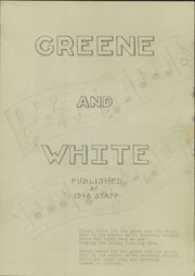 Page 3, 1948 Edition, Greene High School - Greene and White Yearbook (Greene, IA) online yearbook collection