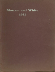 1921 Edition, Milford High School - Pioneer Yearbook (Milford, IA)