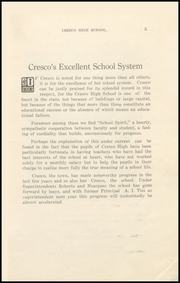 Page 9, 1913 Edition, Cresco High School - Spartan Yearbook (Cresco, IA) online yearbook collection