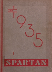 Cresco High School - Spartan Yearbook (Cresco, IA) online yearbook collection, 1935 Edition, Page 1