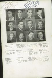 Page 12, 1939 Edition, Cresco High School - Spartan Yearbook (Cresco, IA) online yearbook collection