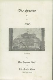 Page 5, 1939 Edition, Cresco High School - Spartan Yearbook (Cresco, IA) online yearbook collection