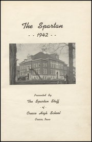 Page 5, 1942 Edition, Cresco High School - Spartan Yearbook (Cresco, IA) online yearbook collection