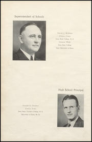 Page 8, 1942 Edition, Cresco High School - Spartan Yearbook (Cresco, IA) online yearbook collection