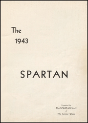 Page 3, 1943 Edition, Cresco High School - Spartan Yearbook (Cresco, IA) online yearbook collection